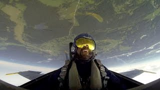 Watch KC Police Chief Darryl Forté ride in a Blue Angels jet