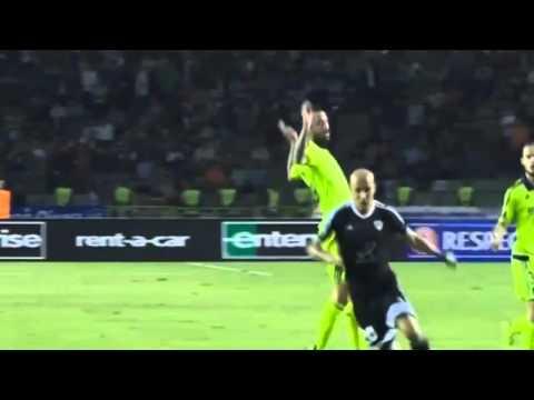 Карабах - Андерлехт 1 - 0 Обзор матча Лига Европы