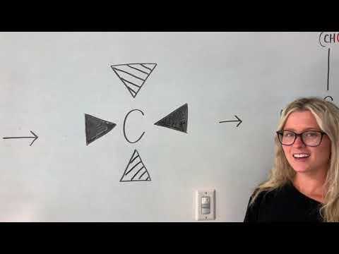 CHEM 108: Wedge-and-Dash Representation