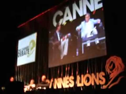 Cannes Lions 2011: The Cannes debate with Sir Martin Sorrell, James Murdoch, Jeffrey Katzenberg