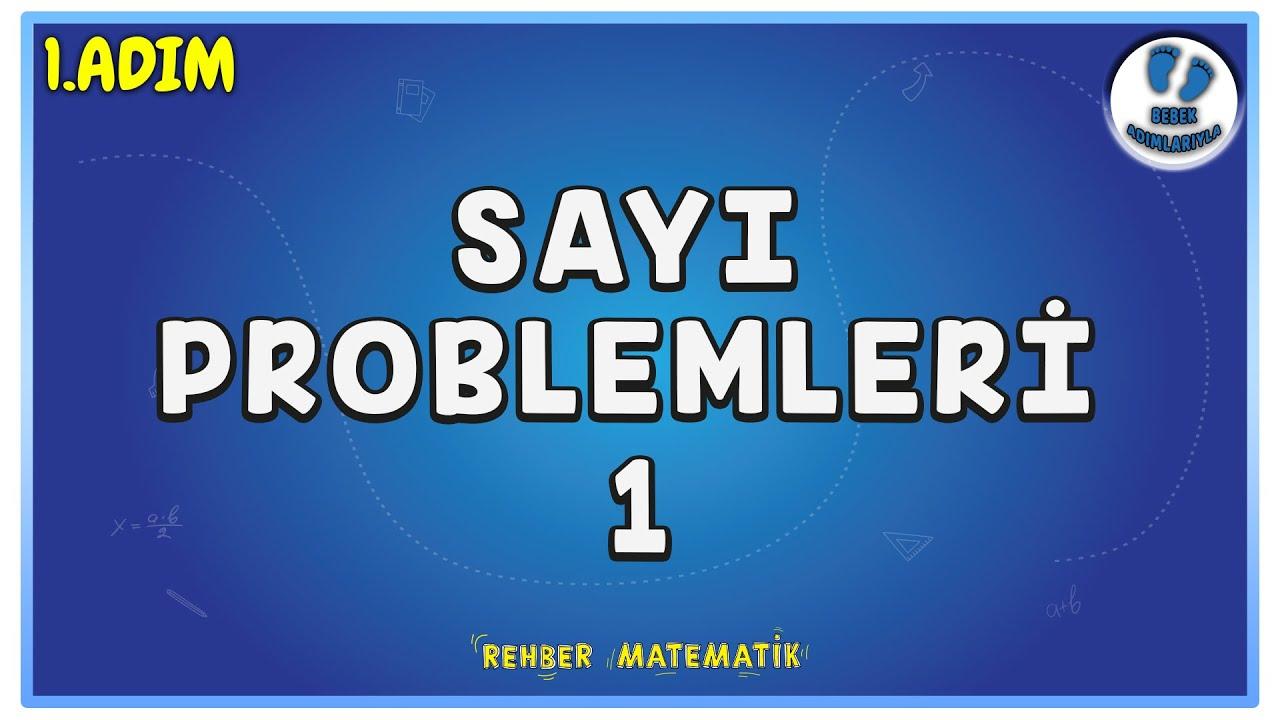 Sayı Problemleri 1 | 1.Adım | Bebek Adımlarıyla PROBLEMLER #problemler #rmtayfa