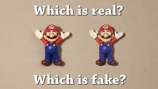 Fun Test: Which is real? Super Mario Drawing Challenge!
