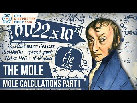 Chemistry Lesson: Mole Calculations I