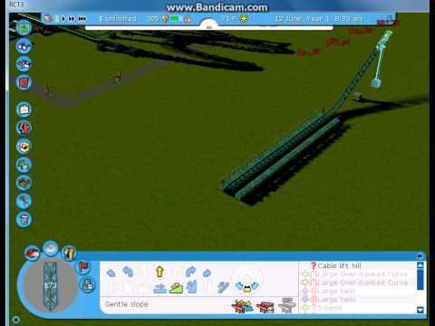 Let's play Roller Coaster Tycoon 3-Custom Scenario-Part 3