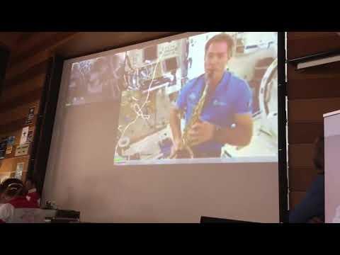Thomas Pesquet en concert depuis l'ISS avec la fanfare de l'ISAE-SUPAERO