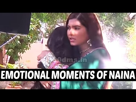 Ek Shringar Swabhimaan | Emotional Moments of Naina and Meghna | On Location