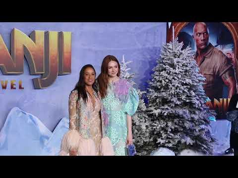 Karen Gillan - World premiere of 'Jumanji: The Next Level'