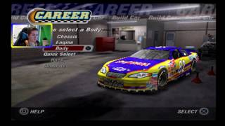 A New Career! (Daytona) | NASCAR Thunder 2004 Career Mode Race 1/36