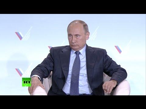 Владимир Путин на форуме ОНФ в Крыму