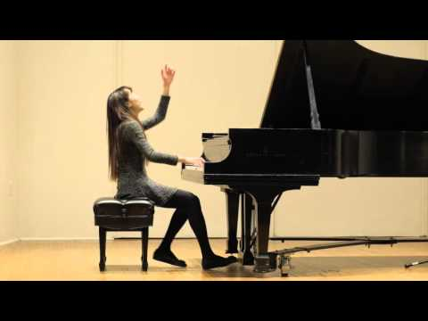 Yu-An Chen- Ludwig van Beethoven Moonlight Sonata Mov. III Presto Agitato