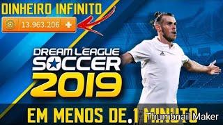 Colocando dinheiro infinito no dream league soccer 18 fácil e rápido
