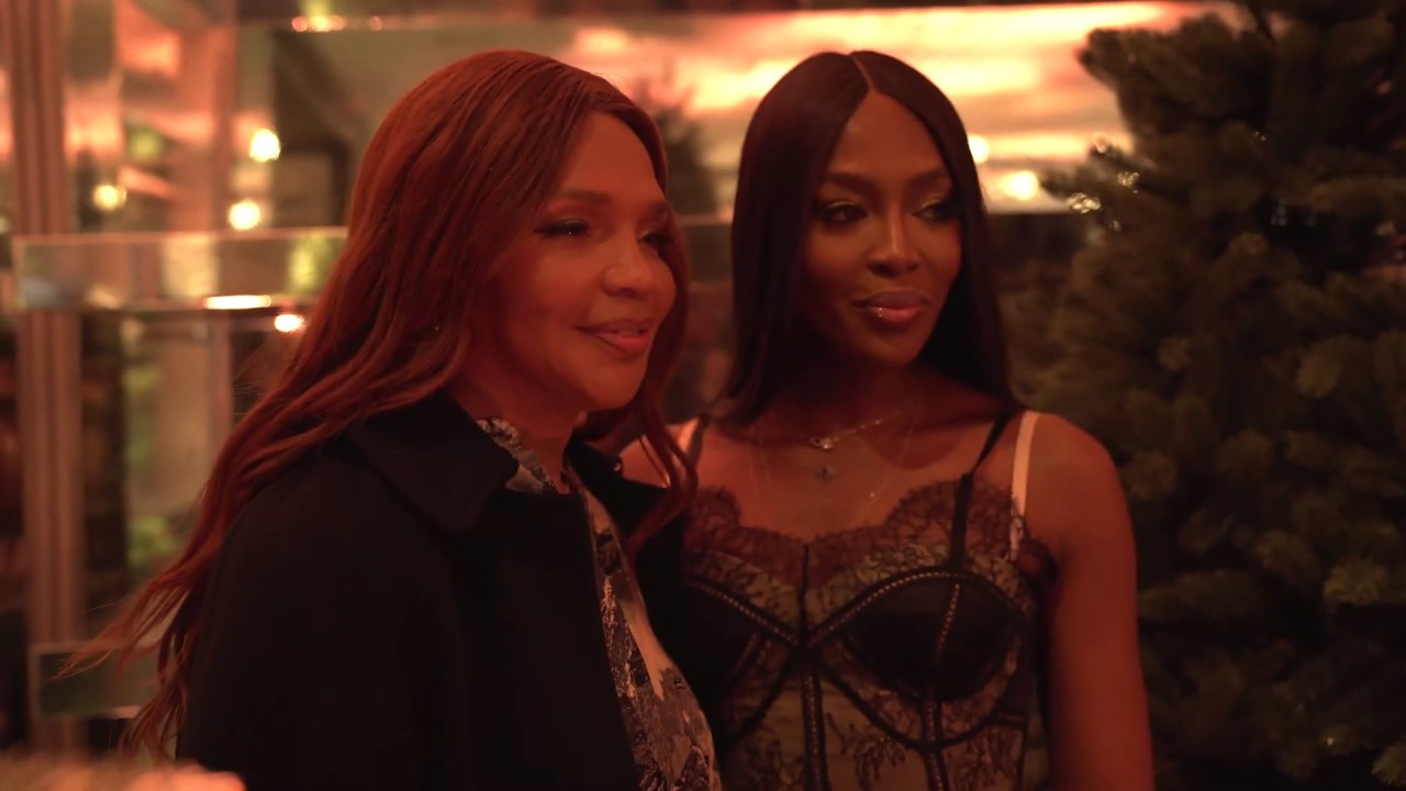 Naomi Campbell is a mother