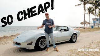 The $5,000 Corvette C3 is a BARGAIN!!