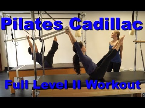 Upside-Down Pilates - Level II Cadillac Full 1 Hour Workout