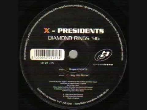X-Presidents - Diamond Rings