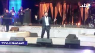 بالفيديو والصور.. 'حماقى' يتألق فى حفل 'سهل حشيش'