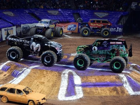 2017 Monster Jam Greenville, South Carolina