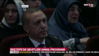 Ankara Beştepe´de  Şehitler Anma Programi Full izle 29.07.2016