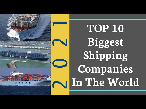 Job Openings | Top 10 Shipping Companies In The World  |Best Shipping Companies In 2021
