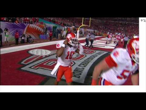 Angry Buckeye Fan Ohio State vs Clemson 2014 Orange Bowl