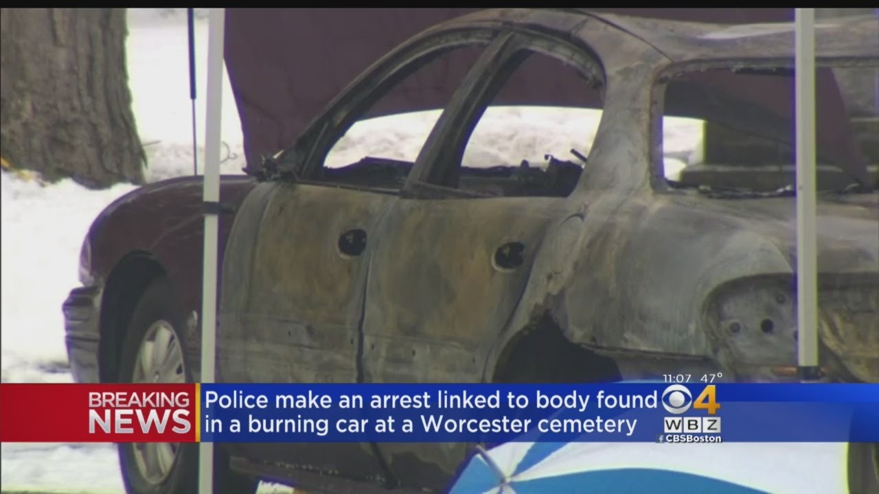 Arrest Made In Connection To Burning Car At Worcester Cemetery