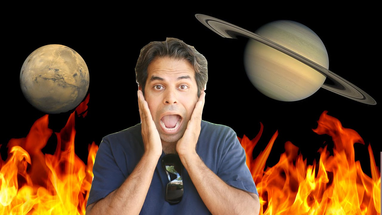 Mars and Saturn conjunction in Astrology