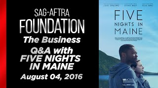 The Business: Q&A with FIVE NIGHTS IN MAINE