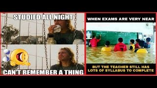 School Exams | Jokes & Memes | Funny Compilation