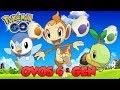ESTÁ FÁCIL CHOCAR OVOS DA 4 GEN? TESTAMOS! - Pokémon Go   Completando a 4ª Geração (Parte 3)