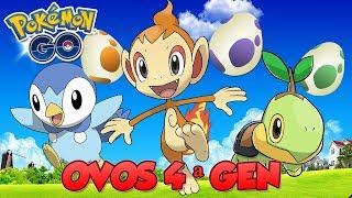 ESTÁ FÁCIL CHOCAR OVOS DA 4 GEN? TESTAMOS! - Pokémon Go | Completando a 4ª Geração (Parte 3)