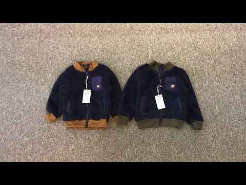 Áo Khoác Lông Cực Cá Tinh Cho Bé Trai - Ak107 - Quần áo Bé Trai