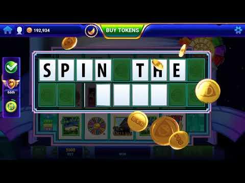 GSN Casino Game Wheel Of Fortune Slots