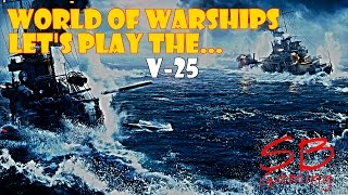 world of warships destroyer v 25 so many v25 in play tier 2 german destroyer