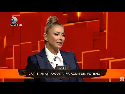 40 de intrebari cu Denise Rifai - Cati bani a facut Anamaria Prodan din fotbal? - YouTube