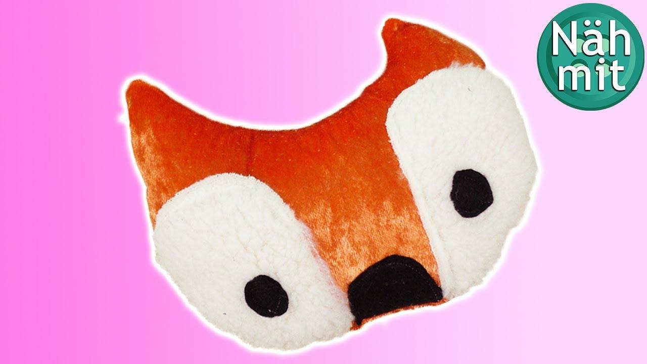 Kissen NÄHEN: Fuchs | Tierkissen für Babys | ohne