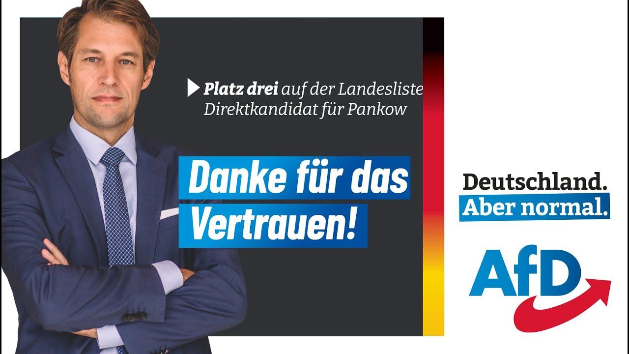 12.06.2021  Platz drei auf der Landesliste Direktkandidat für Pankow