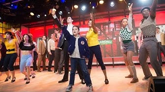'A Bronx Tale' cast perform scene from new musical live on TODAY