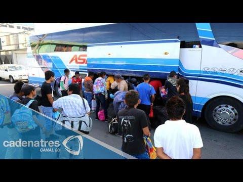 Regresan a Hidalgo jornaleros explotados en Coahuila