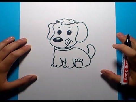 Como dibujar un perro paso a paso 13  How to draw a dog 13  YouTube