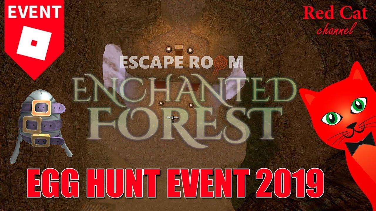 Kak Projti Kartu Enchanted Forest Escape Room Egg Hunt 2019