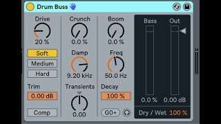 Drum Buss - Ableton Live 10 Tutorial and Walkthrough