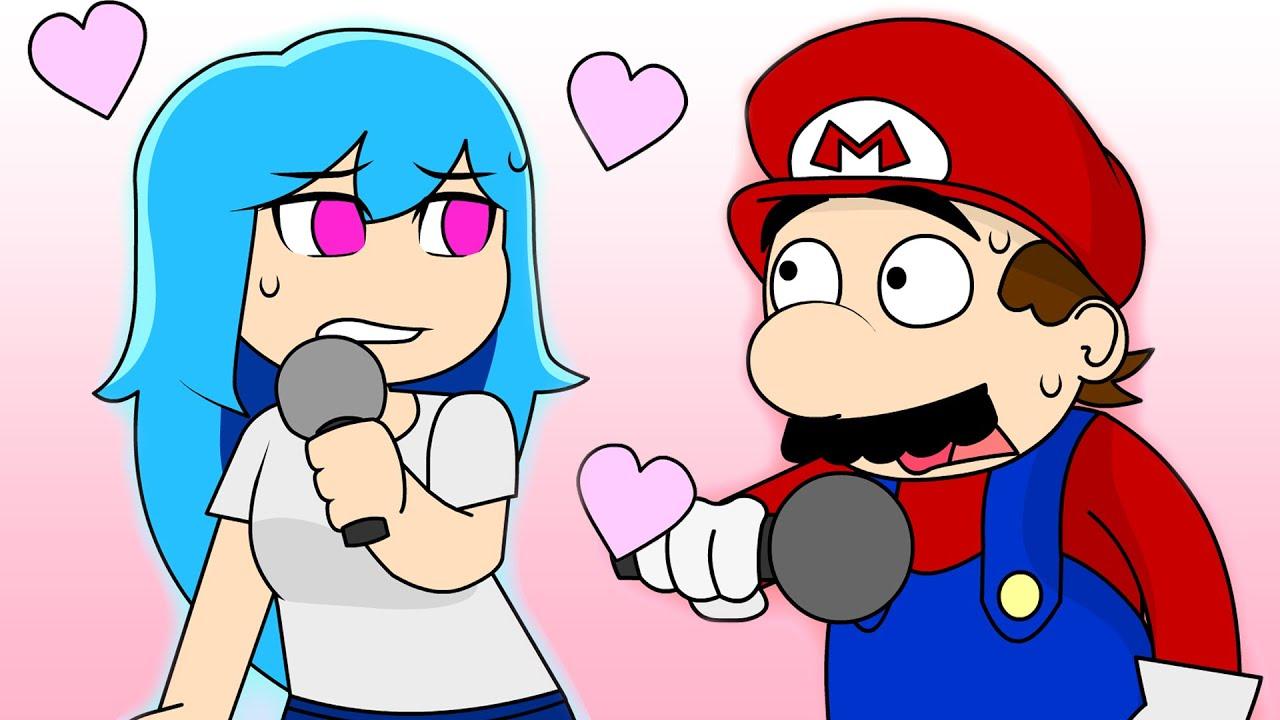 Mario VS SKY - FRIDAY NIGHT FUNKIN ANIMATION #1