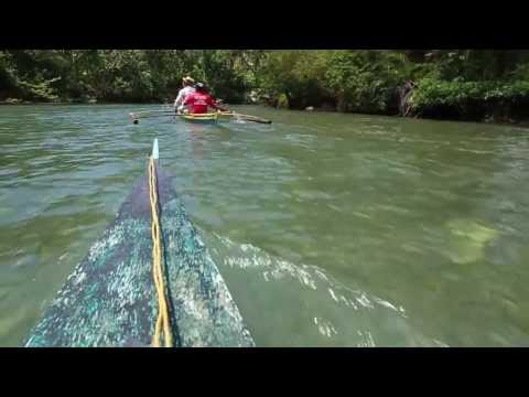 Experience Antique: Bugang River Bamboo Rafting and Banca  Cruise, Pandan, Antique