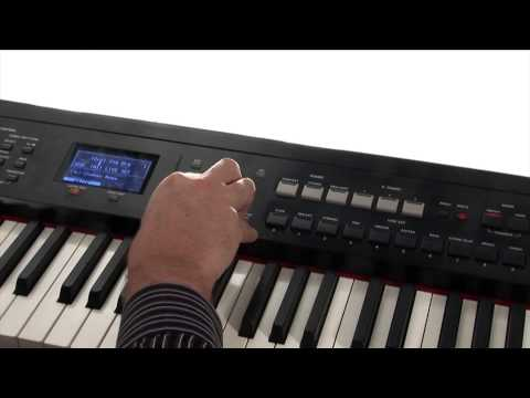 Roland RD 700NX Digital Piano Synthesizer Capabilities