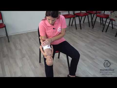 Bebek Hava Yolu Tıkanıklığı (Bebeklerde Heimlich Manevrası)