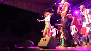 AKOTHEE PERFOMING AT DIANI / UKUNDA 2014