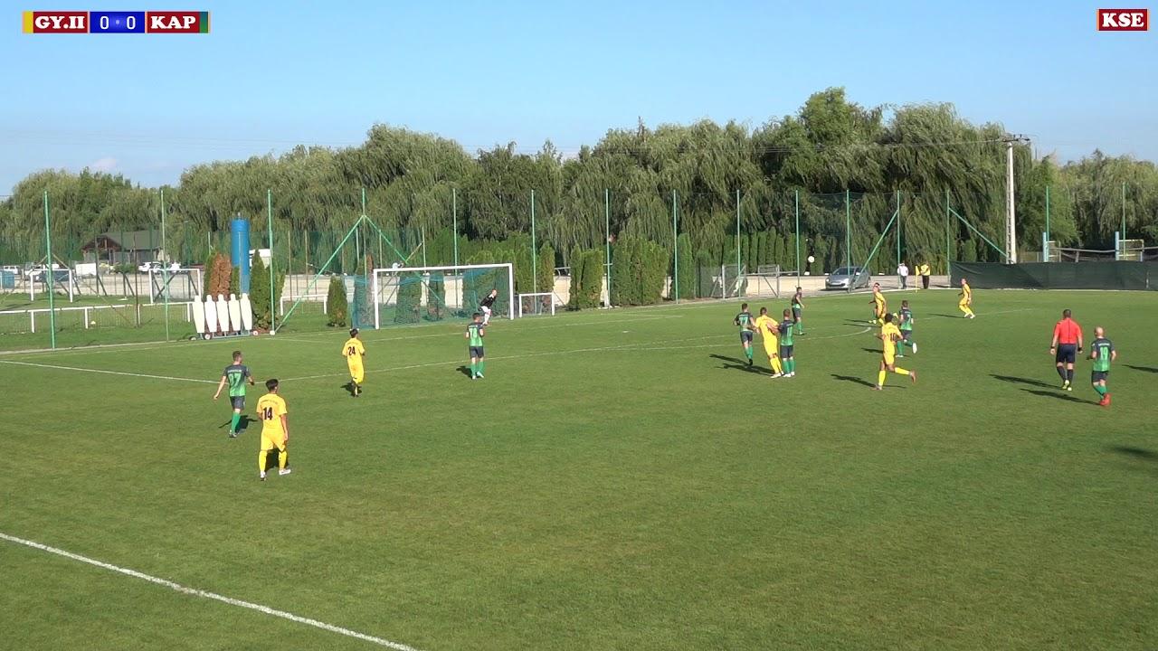 GYIRMÓT FC GYŐR II - KAPUVÁRI SE (0-0) 1-1