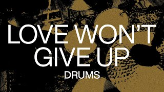 Love Won't Give Up   Official Drums Tutorial   At Midnight   Elevation Worship