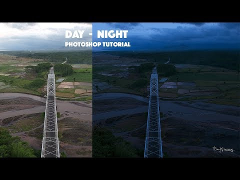 Day To Night Effect Two Minutes Process Editing | Photoshop Tutorial thumbnail