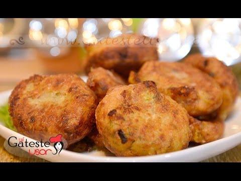 Reteta de Chiftele de Post din Cartofi si Ciuperci